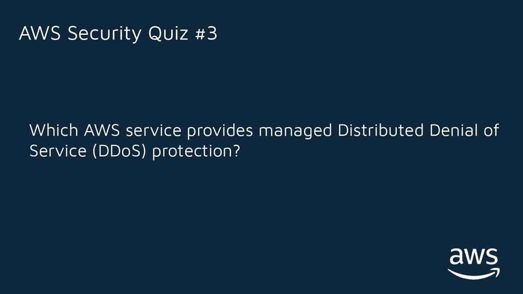 Which AWS service provides managed Distributed ...