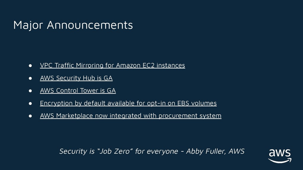 ● VPC Traffic Mirroring for Amazon EC2 instances...