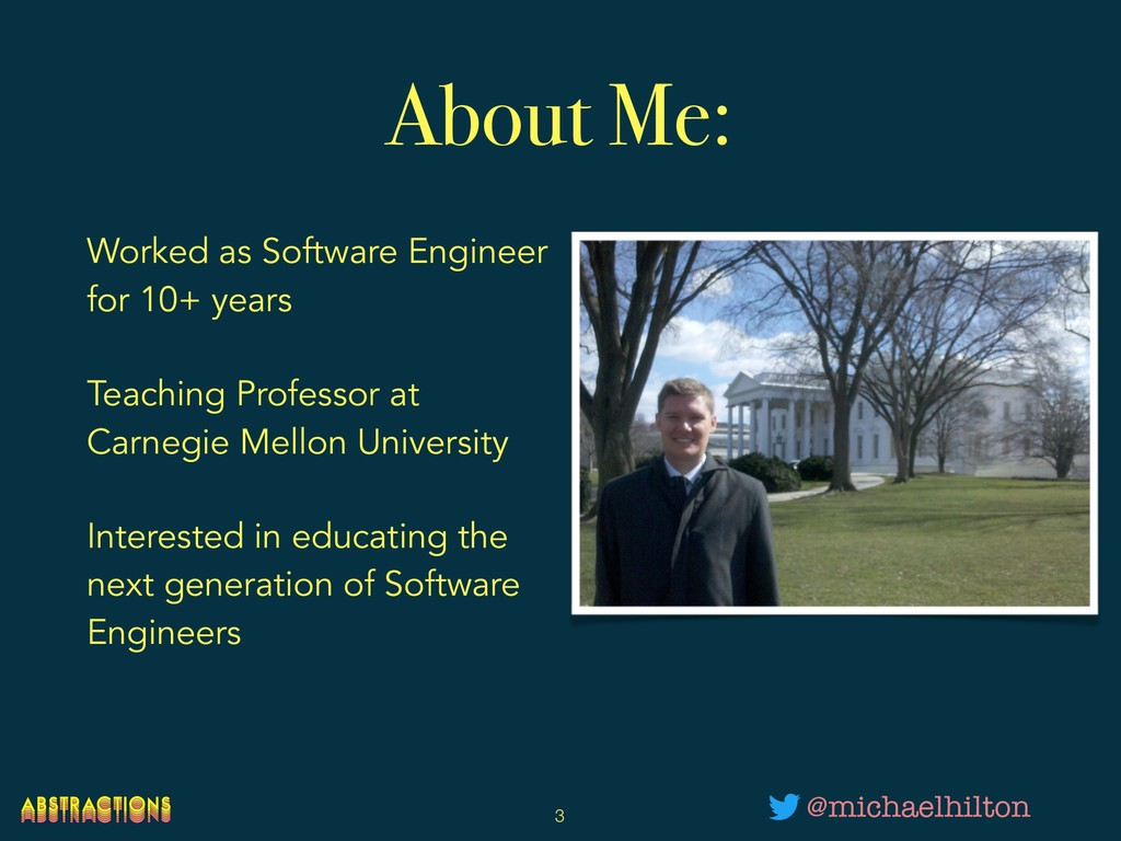 About Me: Worked as Software Engineer for 10+ y...