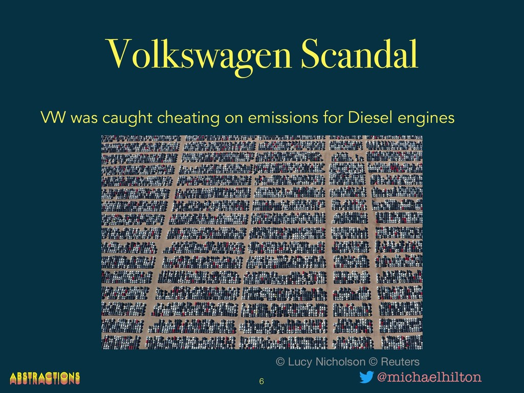 Volkswagen Scandal VW was caught cheating on em...