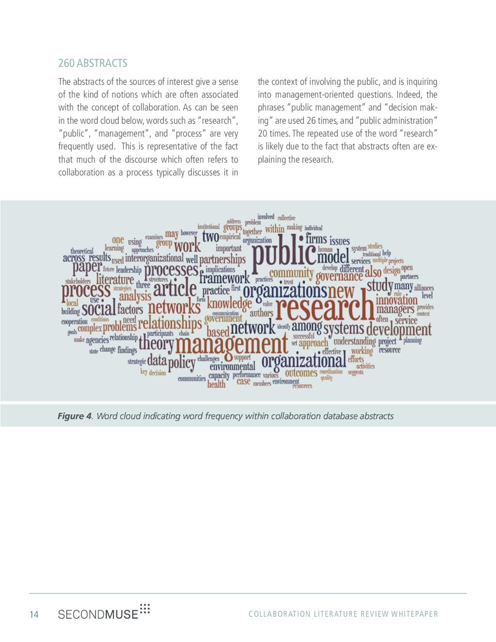 14 COLLABORATION LITERATURE REVIEW WHITEPAPER 2...