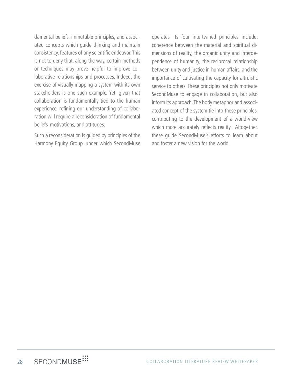 28 COLLABORATION LITERATURE REVIEW WHITEPAPER d...