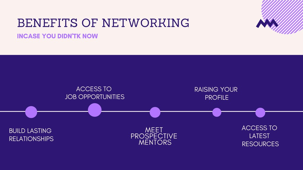 BENEFITS OF NETWORKING INCASE YOU DIDN'T KNOW B...