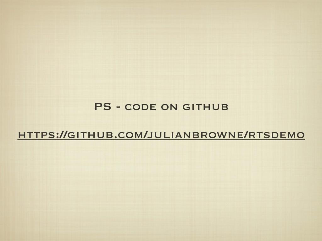 PS - code on github https://github.com/julianbr...