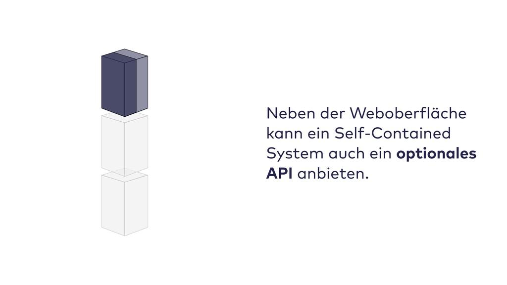 Neben der Weboberfläche kann ein Self-Contained...