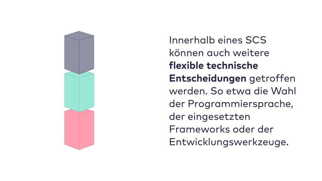 Innerhalb eines SCS können auch weitere flexibl...