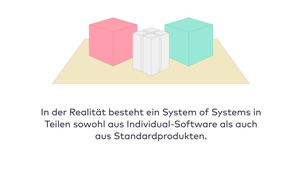In der Realität besteht ein System of Systems i...