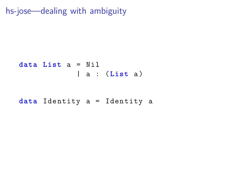 hs-jose—dealing with ambiguity data List a = Ni...