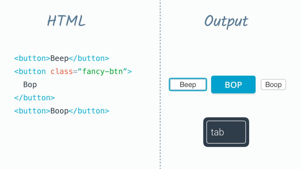 Beep Boop <button>Beep</button> <button class=...