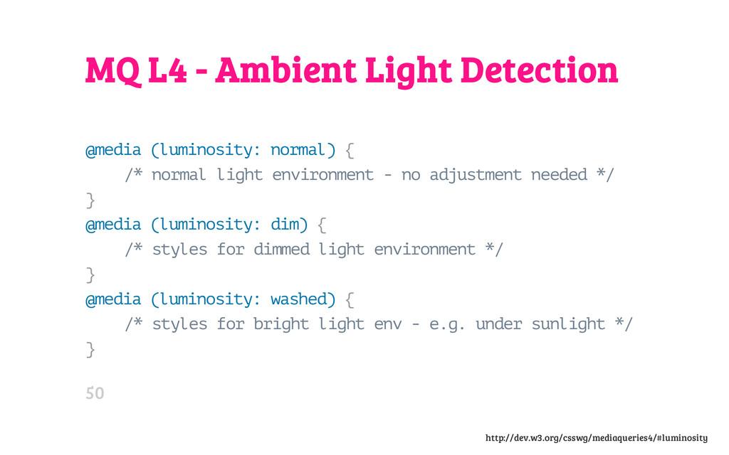 MQ L4 - Ambient Light Detection @ m e d i a ( l...