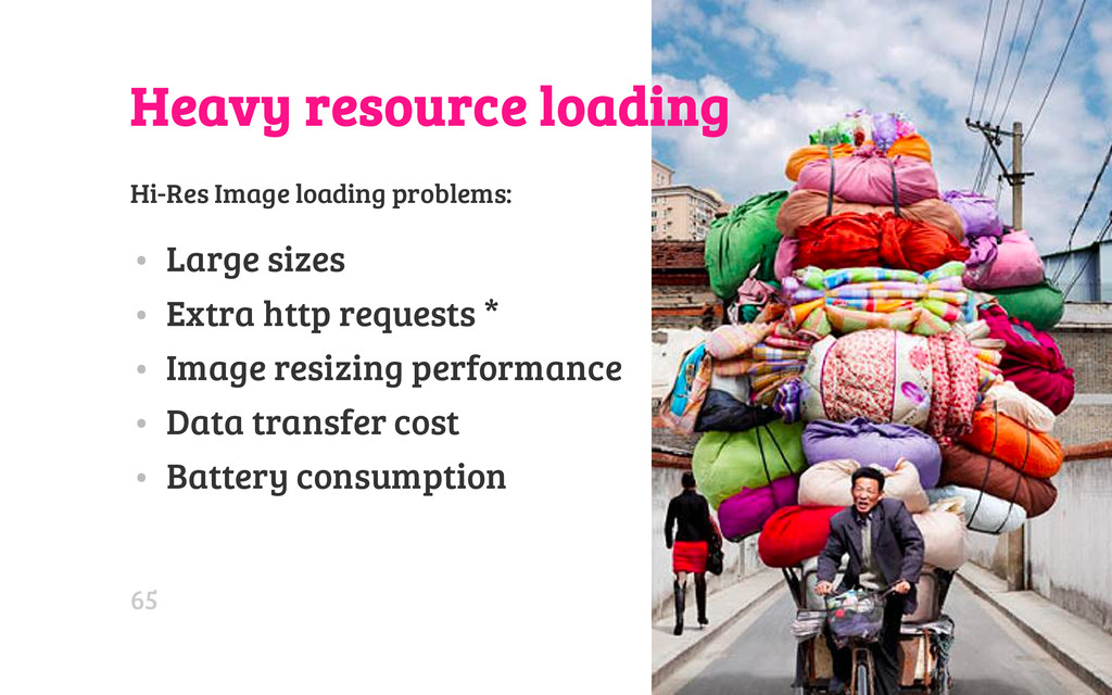 Heavy resource loading Hi-Res Image loading pro...