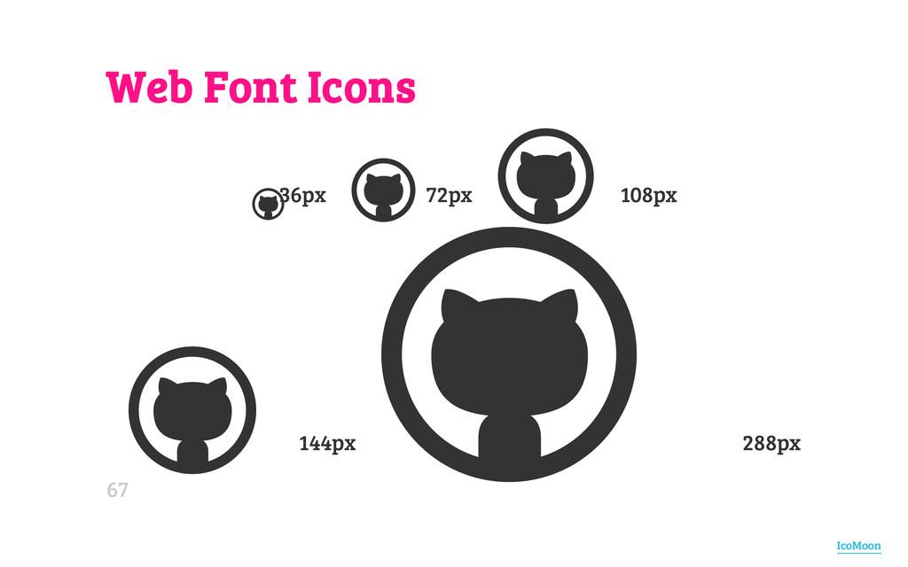 Web Font Icons 36px 72px 108px 144px 288px   ...