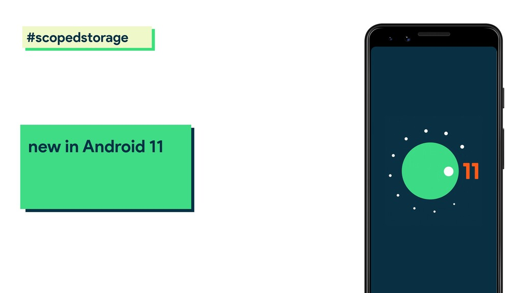 new in Android 11 scoped storage #scopedstorage