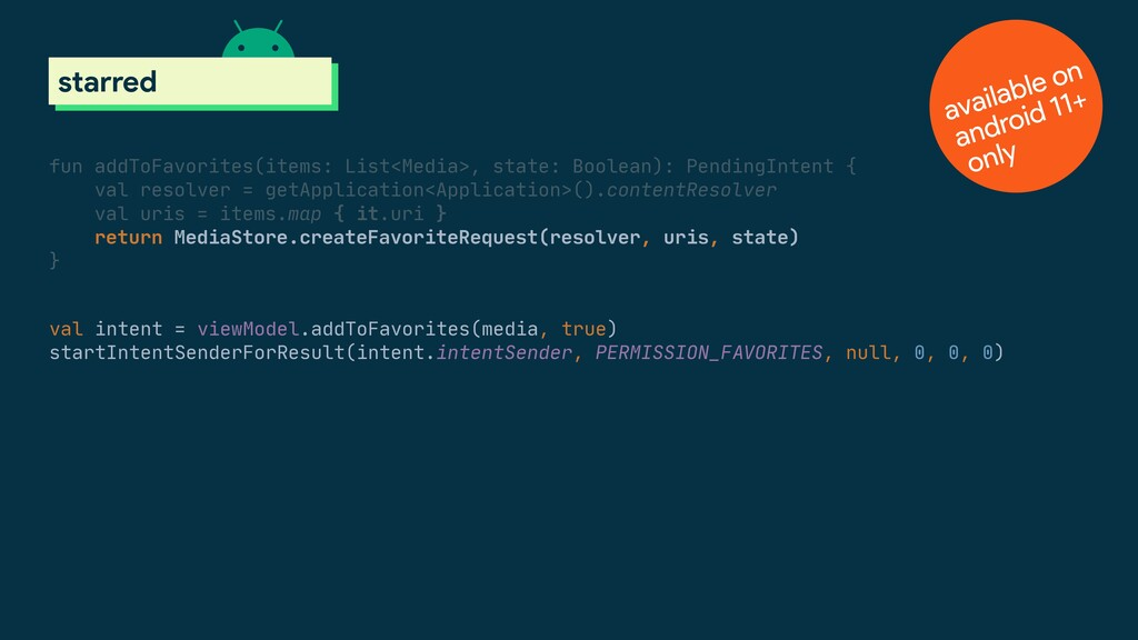 val intent = viewModel.addToFavorites(media, tr...