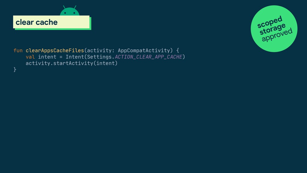 fun clearAppsCacheFiles(activity: AppCompatActi...