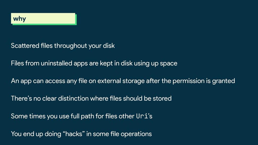 why Scattered files throughout your disk Files ...