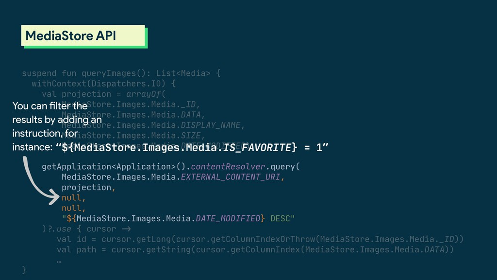 suspend fun queryImages(): List<Media> {  withC...