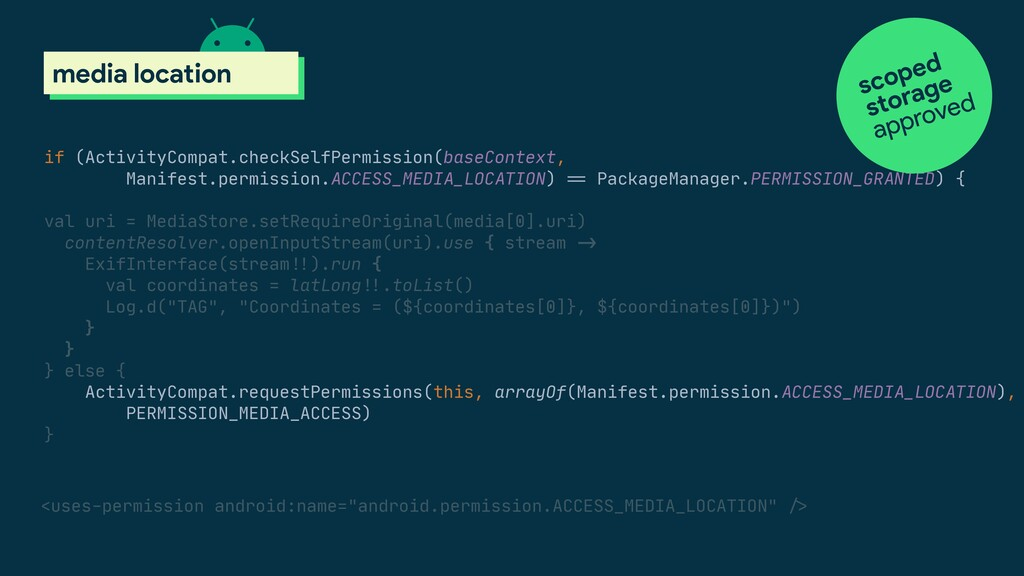 if (ActivityCompat.checkSelfPermission(baseCont...