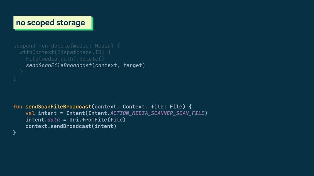 fun sendScanFileBroadcast(context: Context, fil...