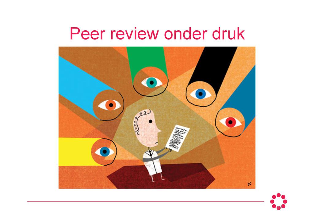 Peer review onder druk 12
