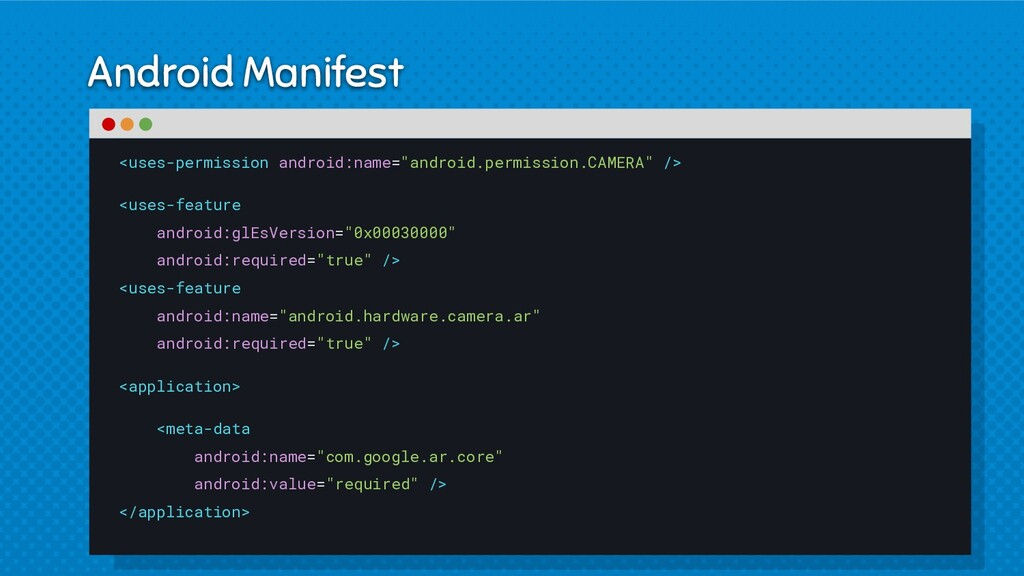 Android Manifest <uses-permission android:name=...