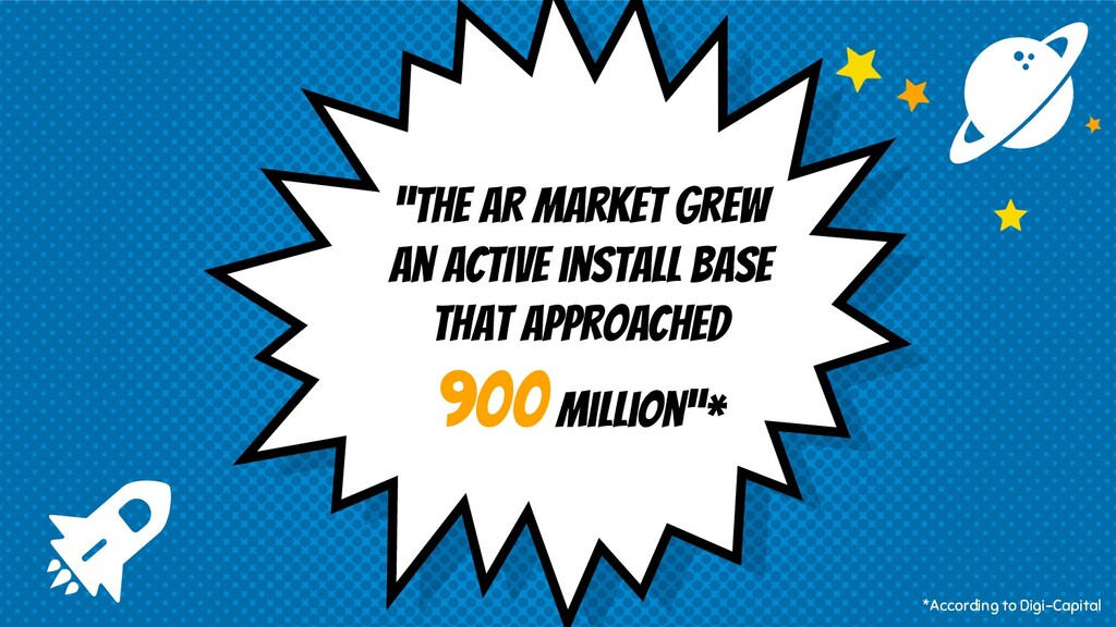 """""""The AR market grew an active install base that..."""