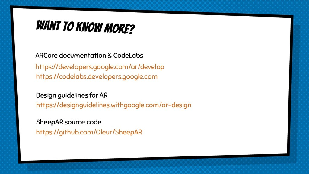 Want to know more? https://developers.google.co...