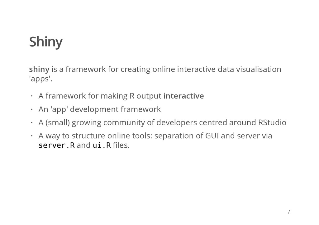 / Shiny shiny is a framework for creating onlin...