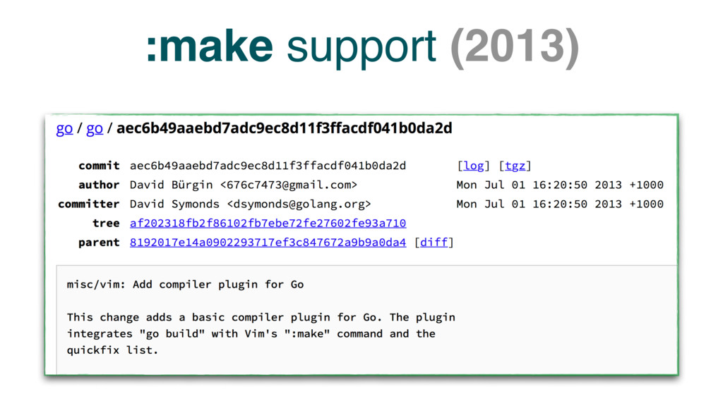 :make support (2013)