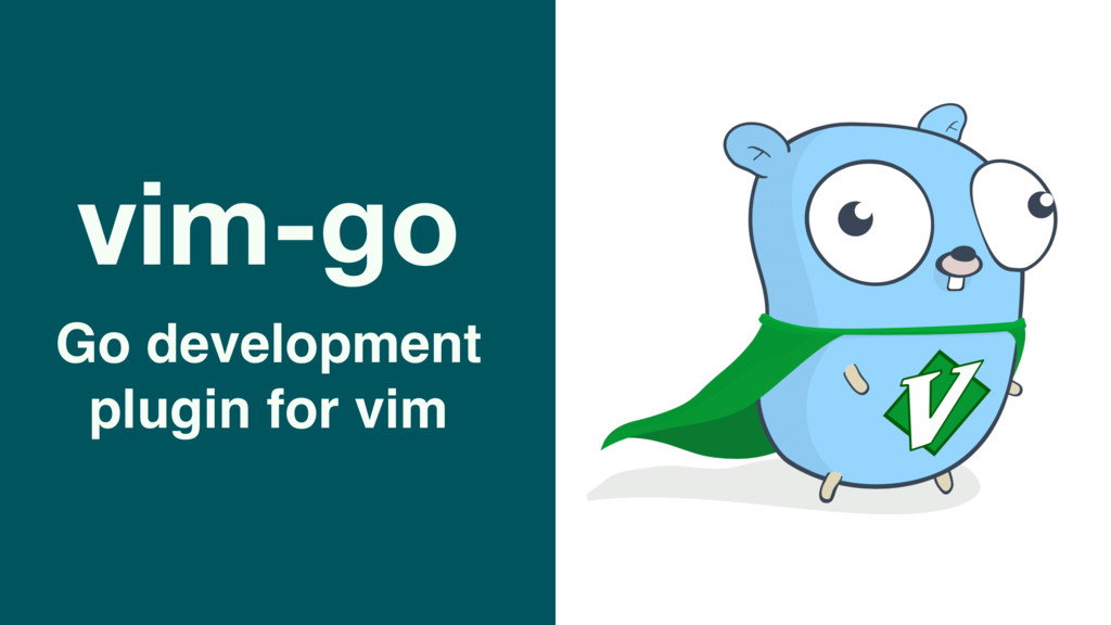 vim-go Go development plugin for vim