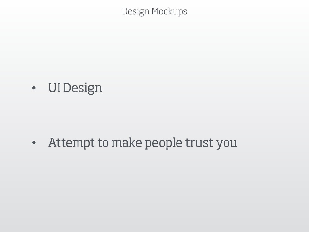 Design Mockups • UI Design • Attempt to make pe...