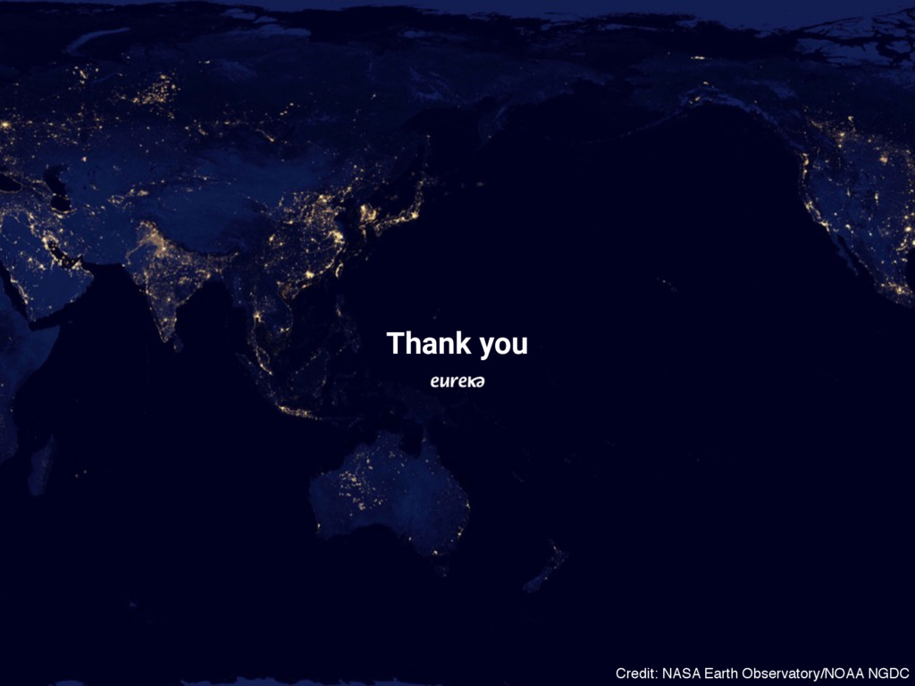 Thank you Credit: NASA Earth Observatory/NOAA N...