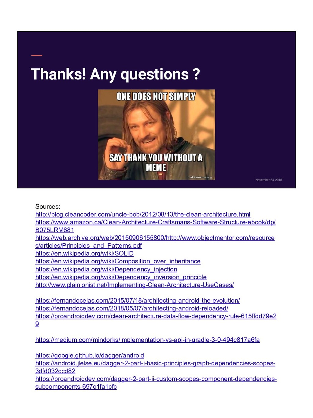 Thanks! Any questions ? Sources: http://blog.cl...