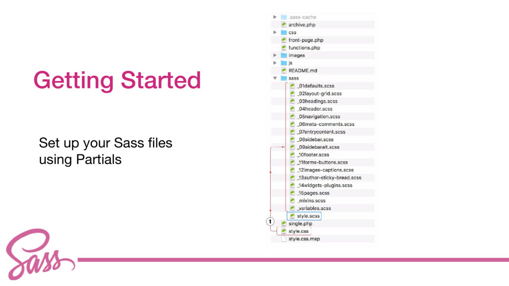 cv Getting Started Set up your Sass files   usin...