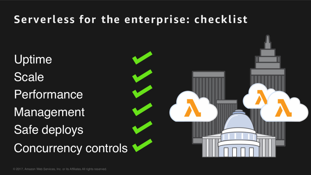 Serverless for the enterprise: checklist Uptime...
