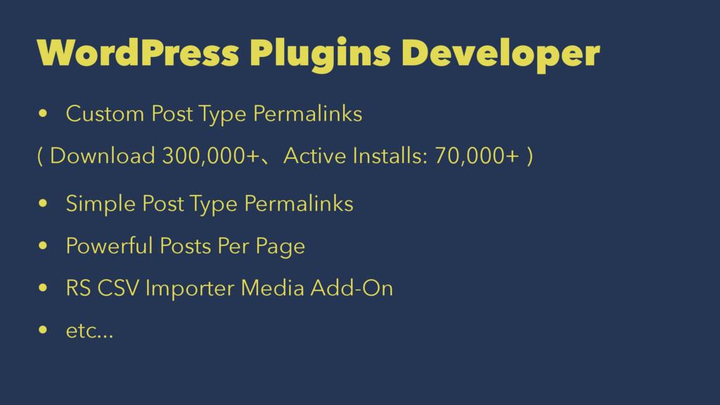 WordPress Plugins Developer • Custom Post Type ...