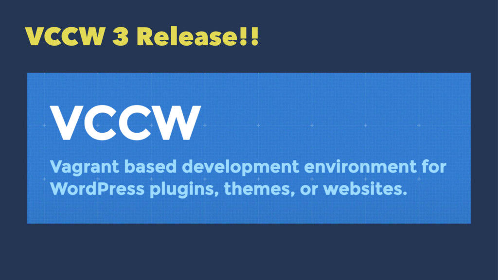 VCCW 3 Release!!