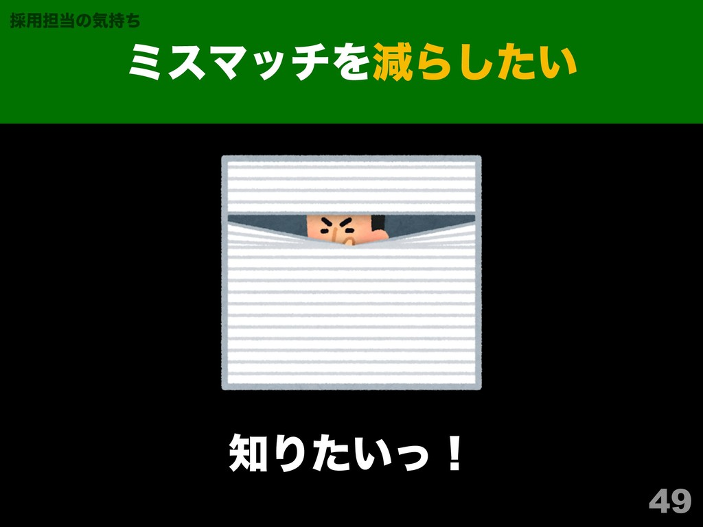 49 ϛεϚονΛݮΒ͍ͨ͠ ࠾༻୲ͷؾͪ Γ͍ͨͬʂ