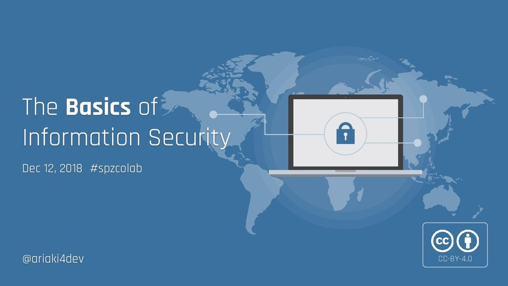 Dec 12, 2018 #spzcolab The Basics of Informatio...