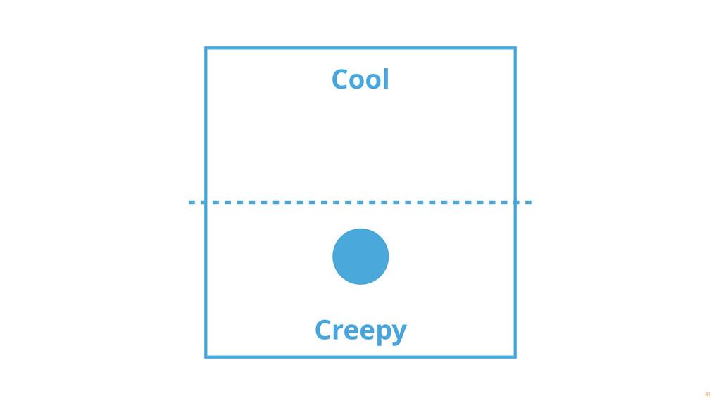 Cool 41 Creepy