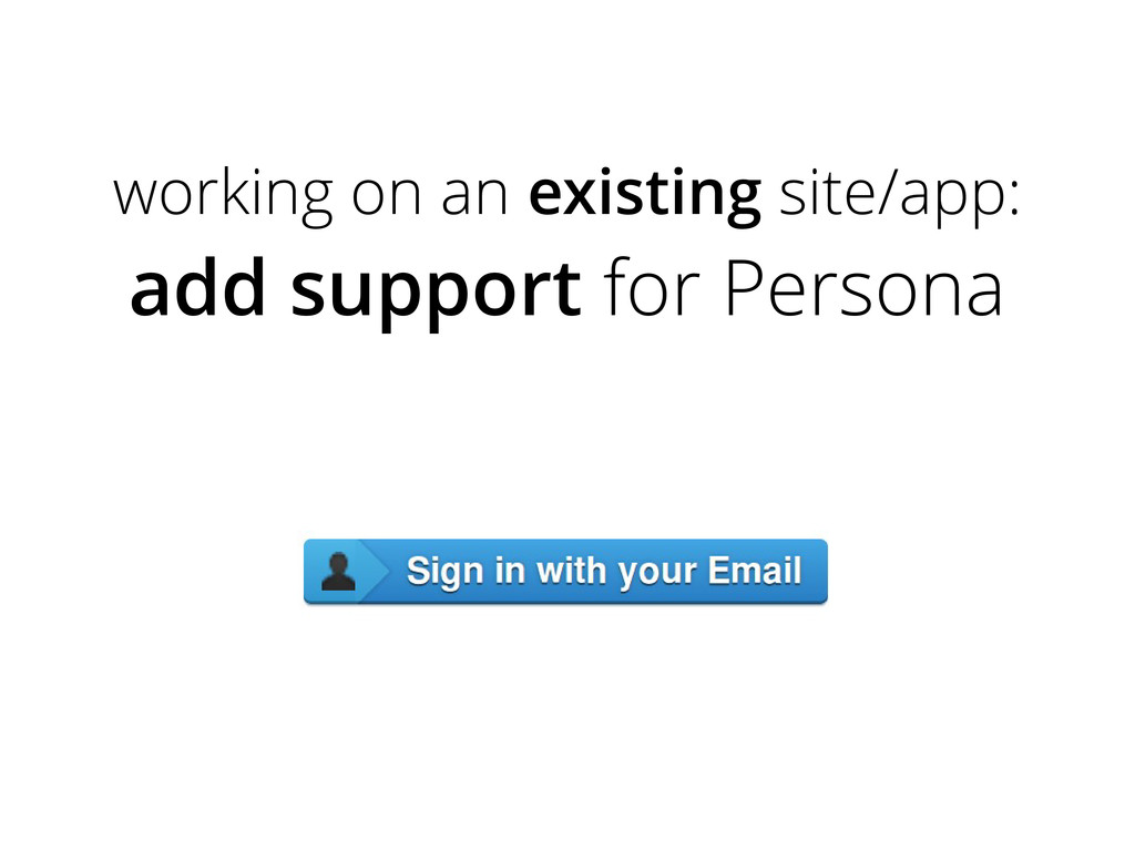 working on an existing site/app: add support fo...