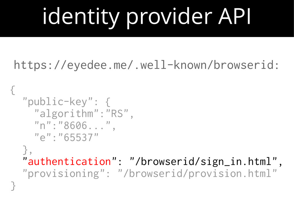 """https://eyedee.me/.well-known/browserid: { """"pub..."""