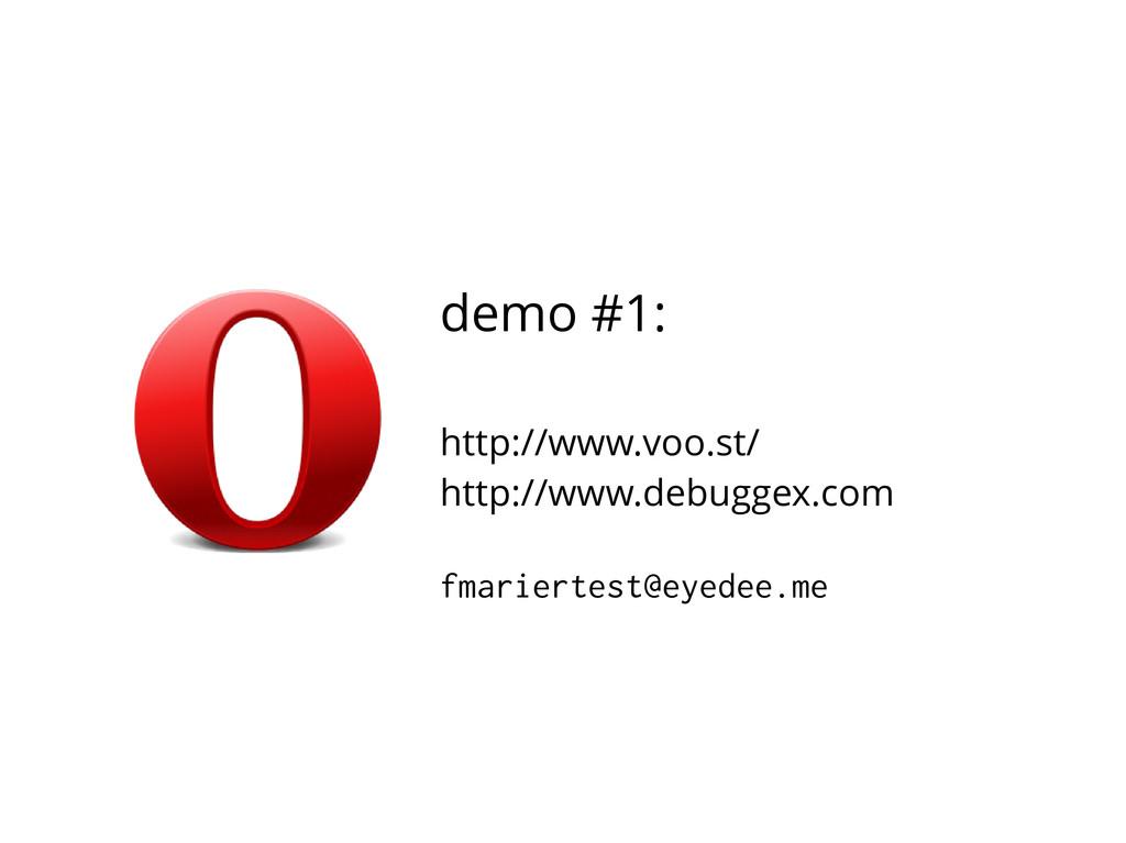 demo #1: http://www.voo.st/ http://www.debuggex...