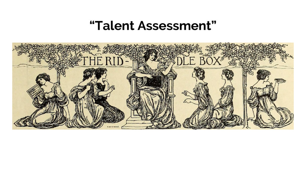 """Talent Assessment"""