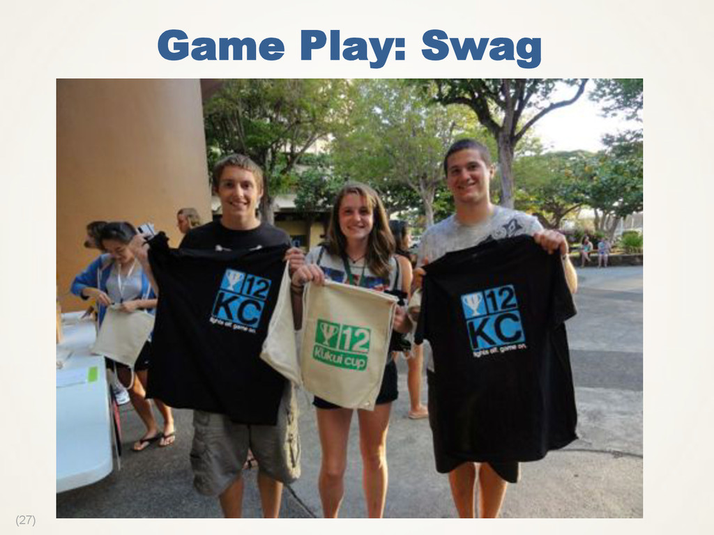 (27) Game Play: Swag