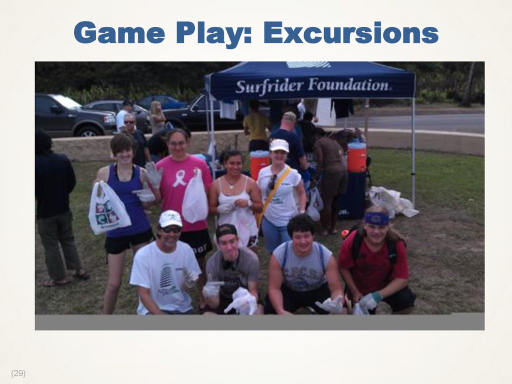 (29) Game Play: Excursions