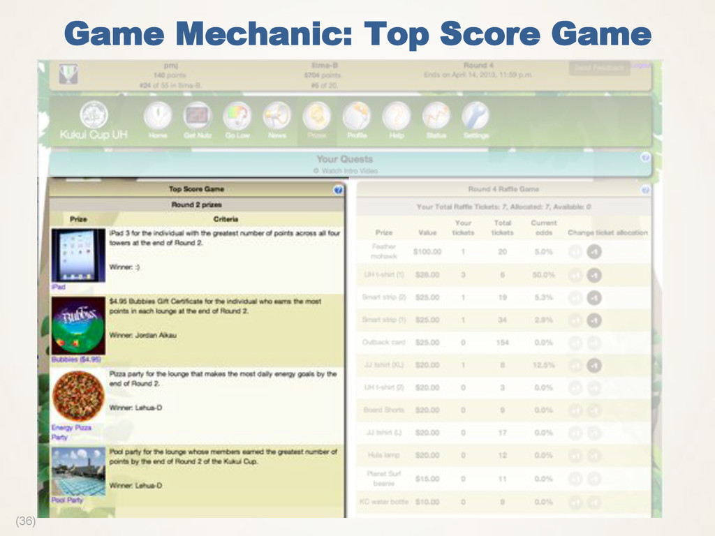 (36) Game Mechanic: Top Score Game
