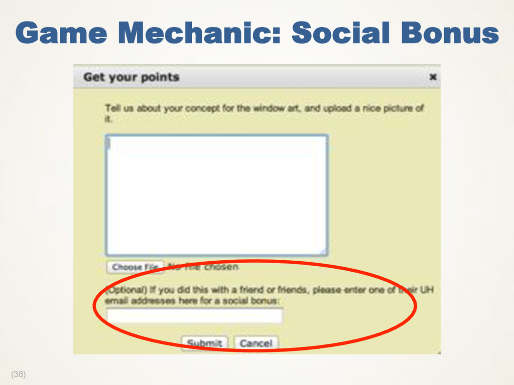 (38) Game Mechanic: Social Bonus