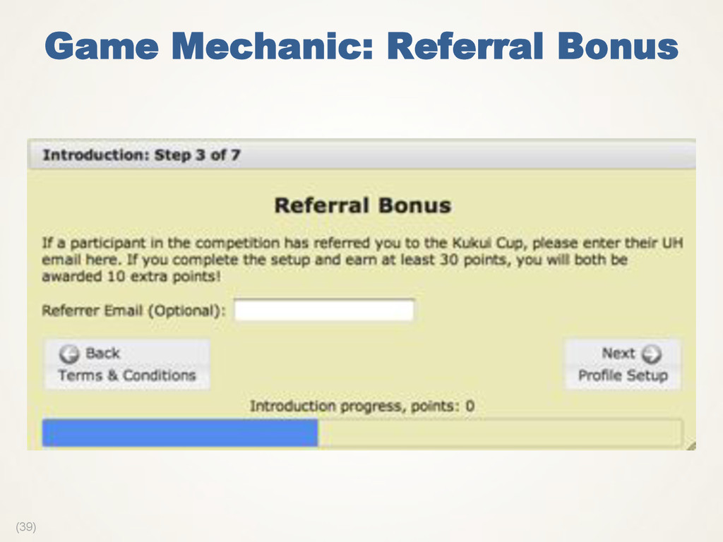 (39) Game Mechanic: Referral Bonus