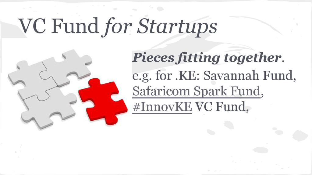 VC Fund for Startups Pieces fitting together. e...